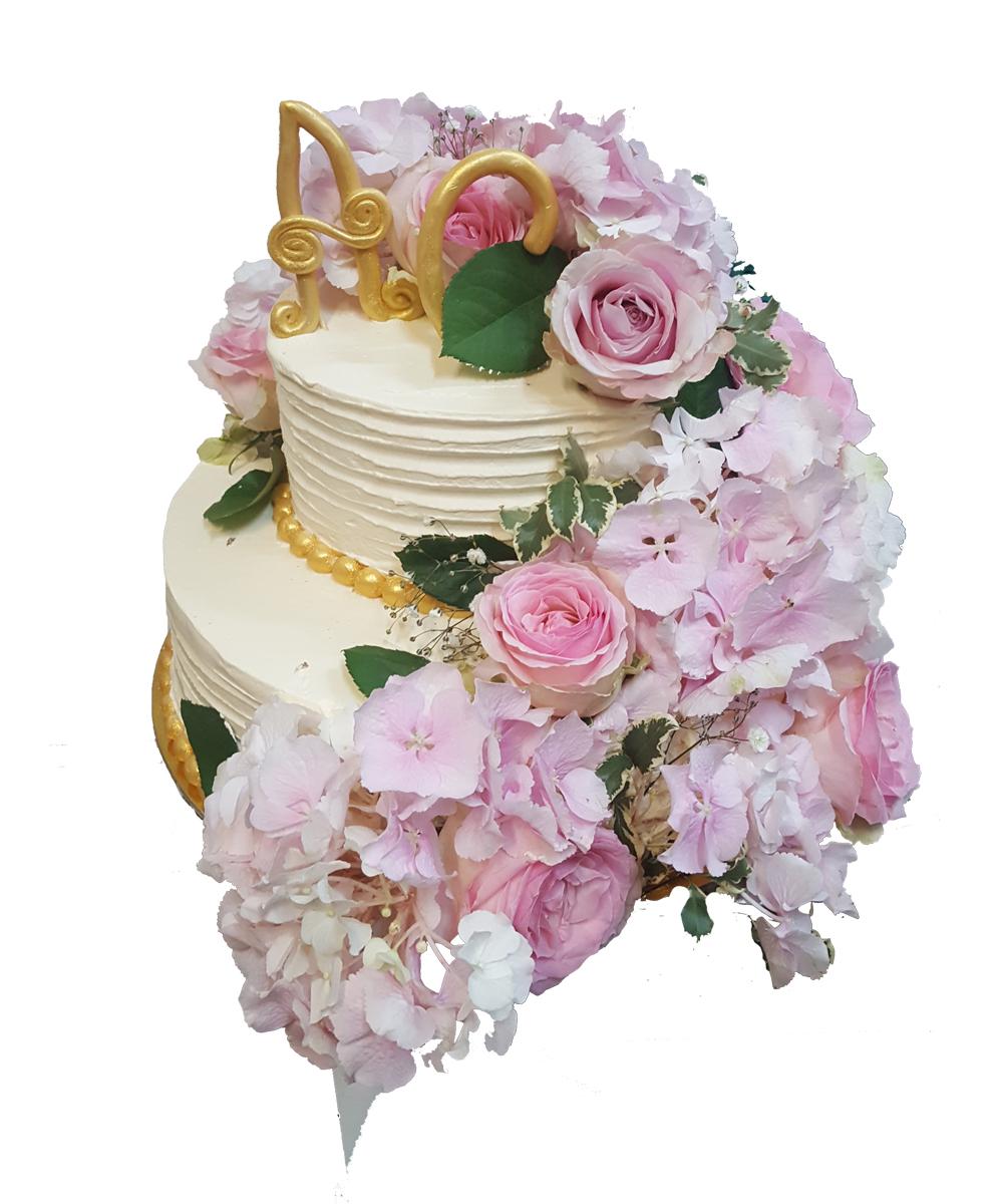 Tort Nunta Floral De La Cofetaria Tuffli Iasi
