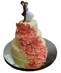 tort-nunta-floare-plumeria