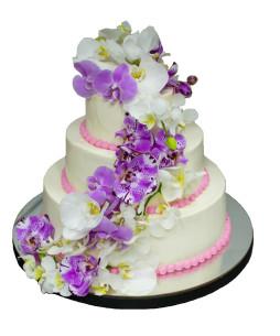 Tor-Nunta-Purple-Orchid