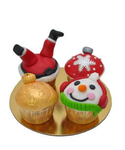 Cupcake-Craciun