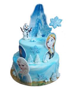 Frozen cu figurine