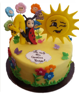 tort buburuza si soare