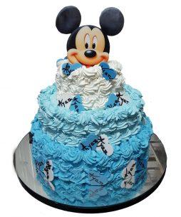 Tort botez Mickey bezele