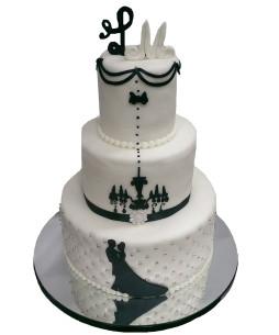 Tort-nunta-Candelabru