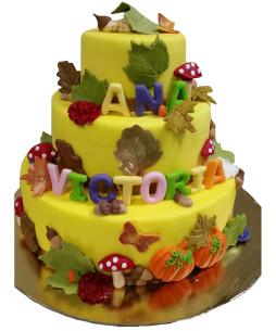 Tort-botez-Toamna