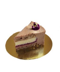 Felie de tort berriolette touche